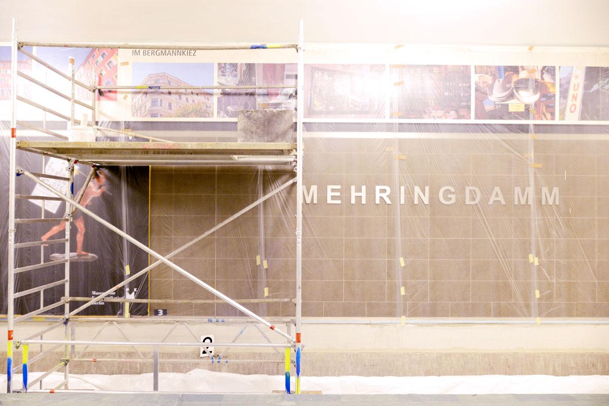 U-Bahnhof Mehringdamm