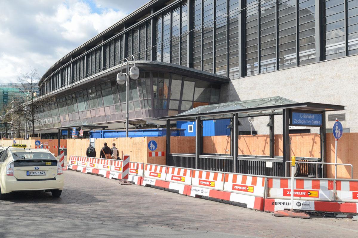 Zooterrassen Bahnhof Zoologischer Garten