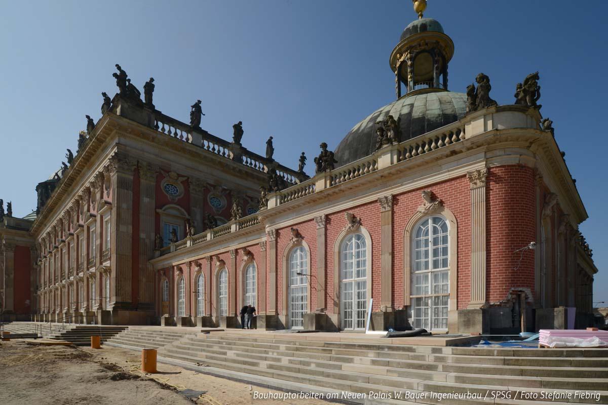 Neues Palais Potsdam / SPSG / Foto Stefanie Fiebrig