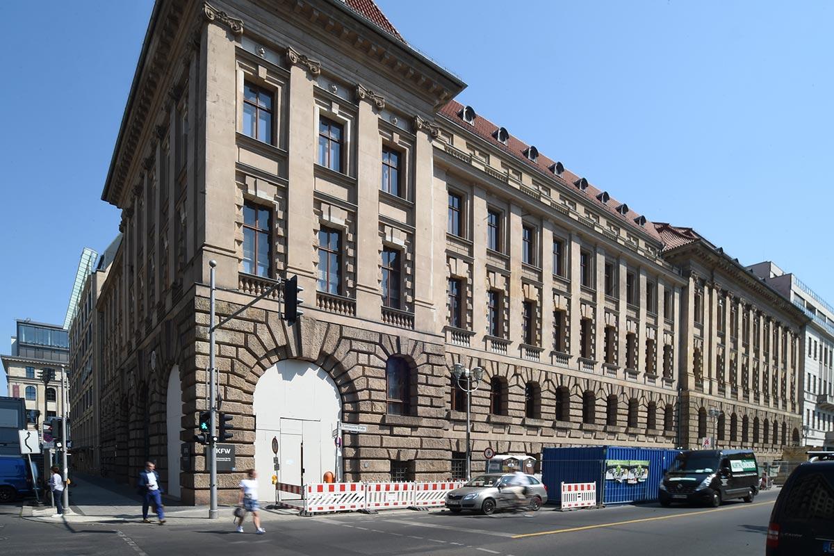 Wolfgang Bauer Ingenieurbau - KfW Bank
