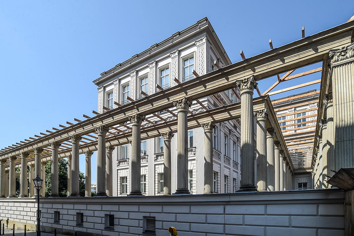 Wolfgang Bauer Ingenieurbau - Kronprinzenpalais