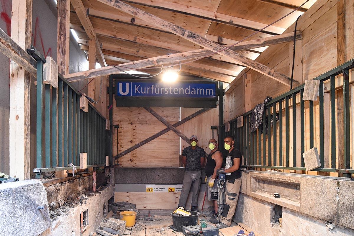 Wolfgang Bauer Ingenieurbau - U-Bhf-Kurfuerstendamm